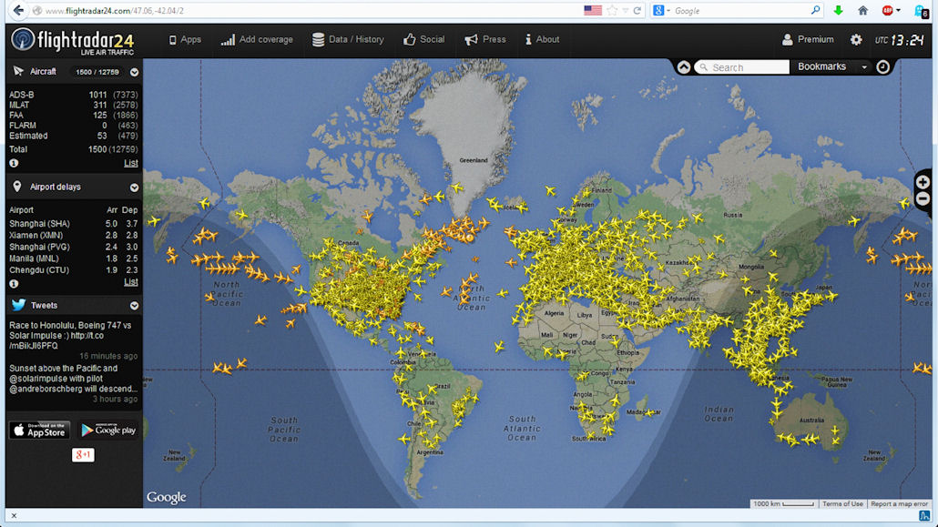 Live ATC audio & flight tracking