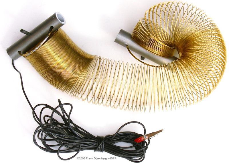 Slinky-coil dipole