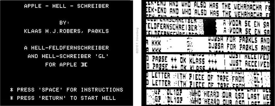 Hell software & interfacing