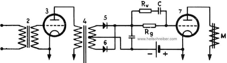 Feld-Hell circuitry